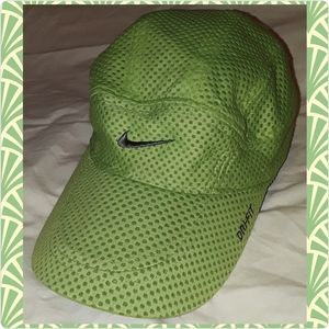 Lime green Nike hat